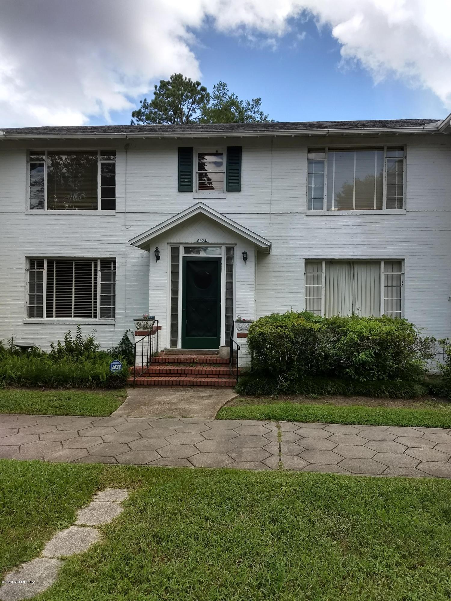 3102 RIVERSIDE, JACKSONVILLE, FLORIDA 32205, 2 Bedrooms Bedrooms, ,1 BathroomBathrooms,Rental,For Rent,RIVERSIDE,956113