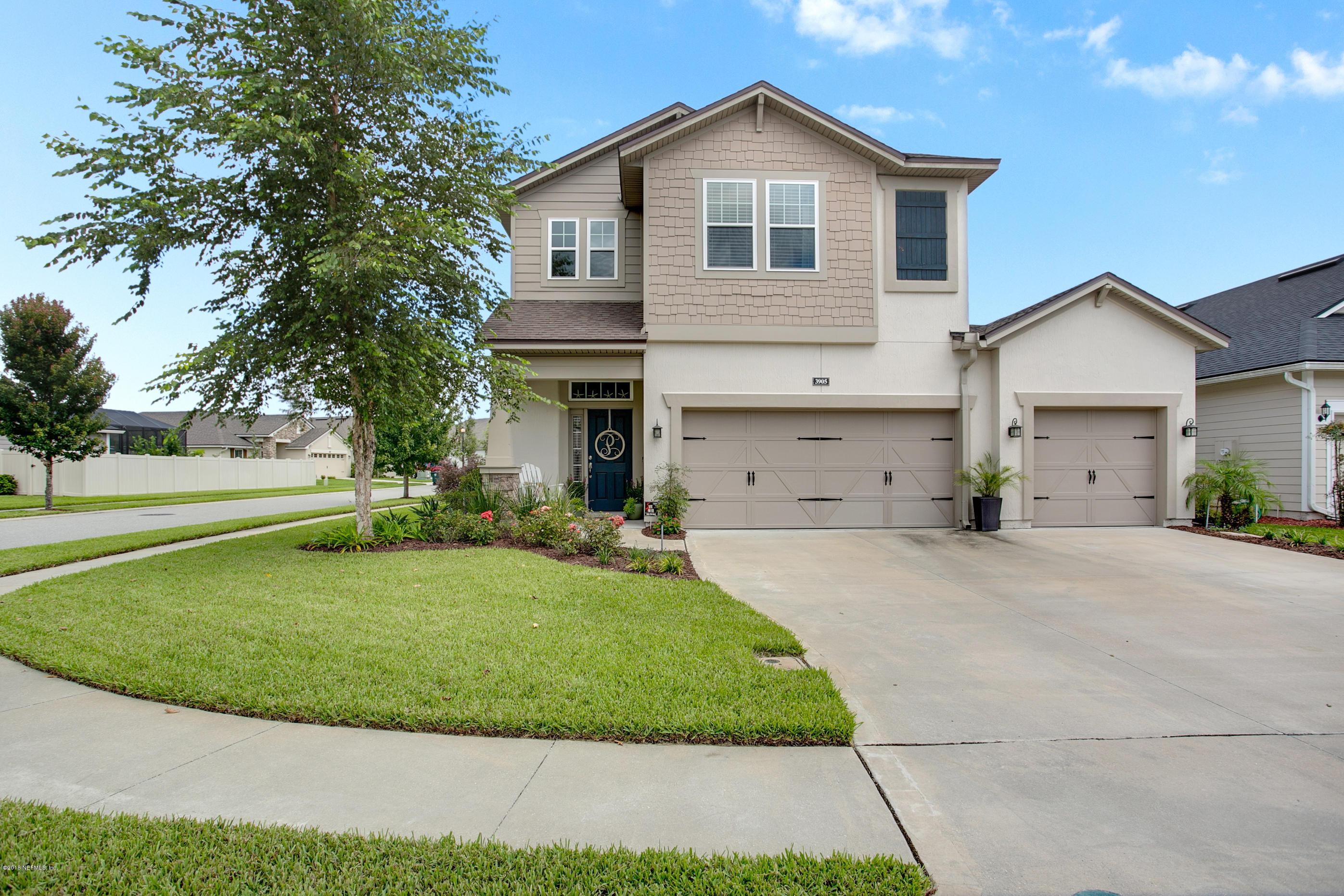 3905 BURNT PINE, JACKSONVILLE, FLORIDA 32224, 4 Bedrooms Bedrooms, ,3 BathroomsBathrooms,Residential - single family,For sale,BURNT PINE,957428