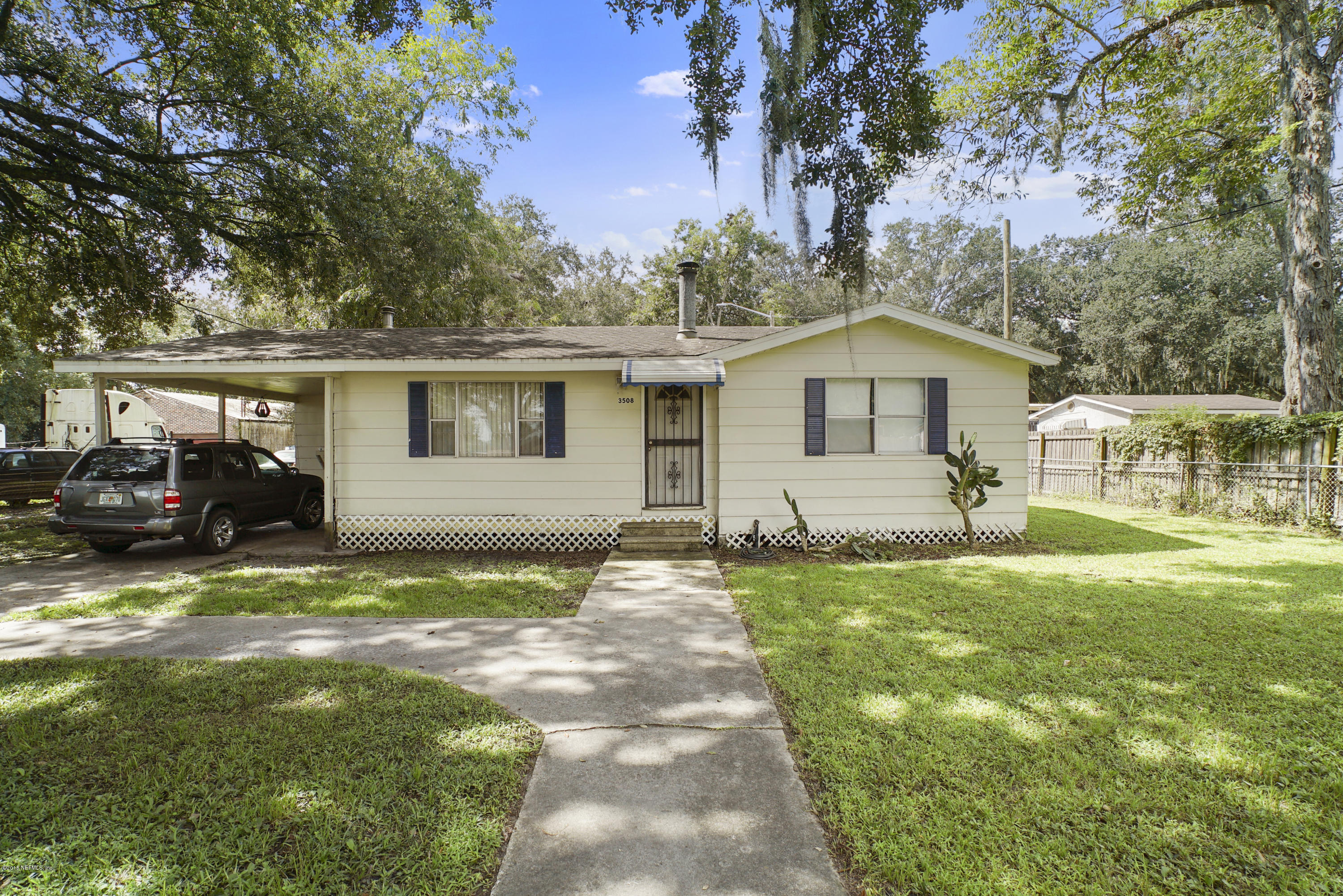 3508 OLD KINGS, JACKSONVILLE, FLORIDA 32209, 3 Bedrooms Bedrooms, ,1 BathroomBathrooms,Residential - single family,For sale,OLD KINGS,957409