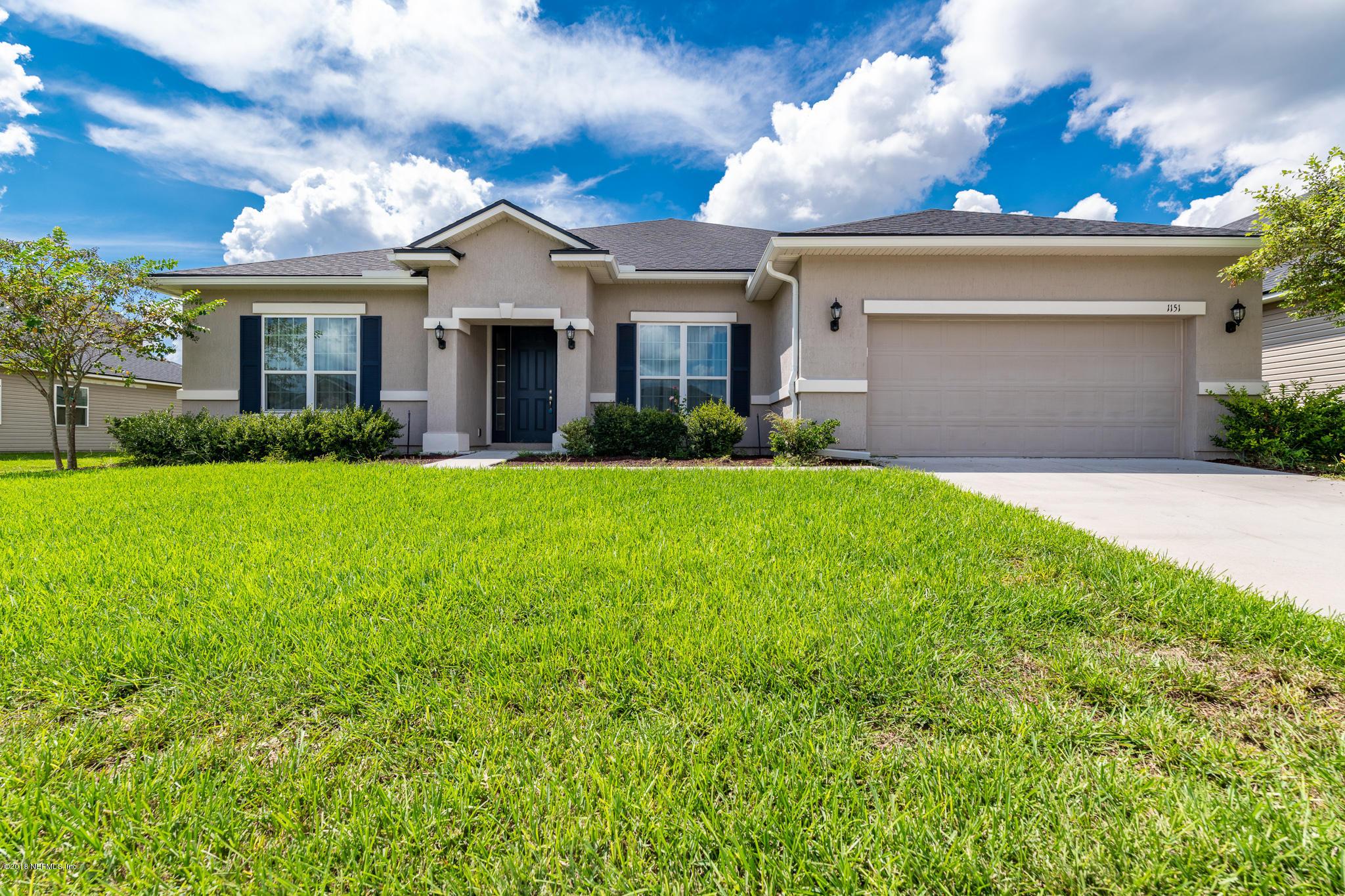 1151 WETLAND RIDGE, MIDDLEBURG, FLORIDA 32068, 4 Bedrooms Bedrooms, ,2 BathroomsBathrooms,Residential - single family,For sale,WETLAND RIDGE,957455