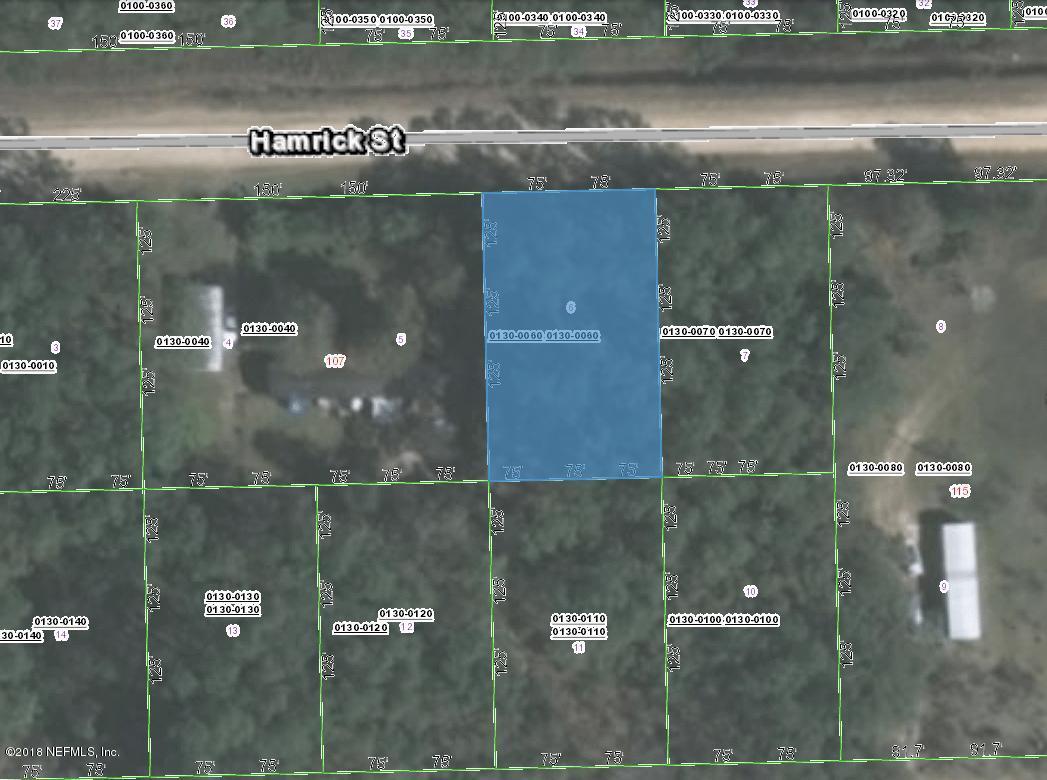 0130-0060 HAMRICK, INTERLACHEN, FLORIDA 32148, ,Vacant land,For sale,HAMRICK,957818