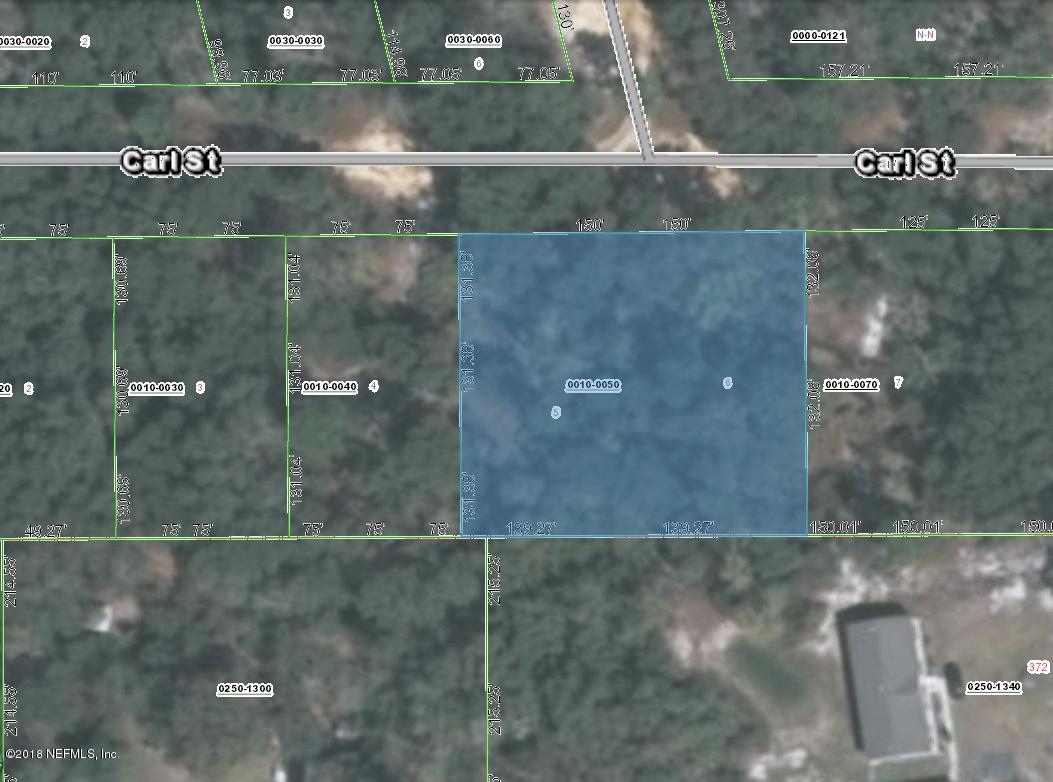 109 CARL, INTERLACHEN, FLORIDA 32148, ,Vacant land,For sale,CARL,957837