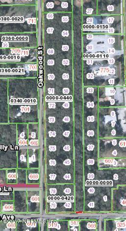 LOT 3 VERNON-OAKWOOD, CRESCENT CITY, FLORIDA 32112, ,Vacant land,For sale,VERNON-OAKWOOD,959019