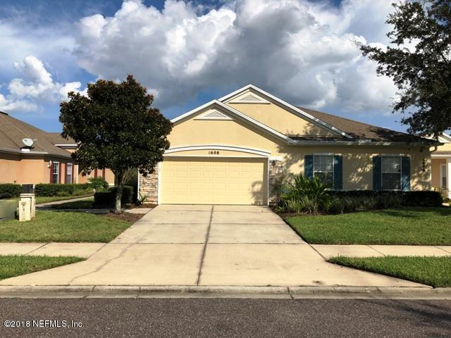 1608 CALMING WATER, ORANGE PARK, FLORIDA 32003, 3 Bedrooms Bedrooms, ,2 BathroomsBathrooms,Residential - townhome,For sale,CALMING WATER,959894