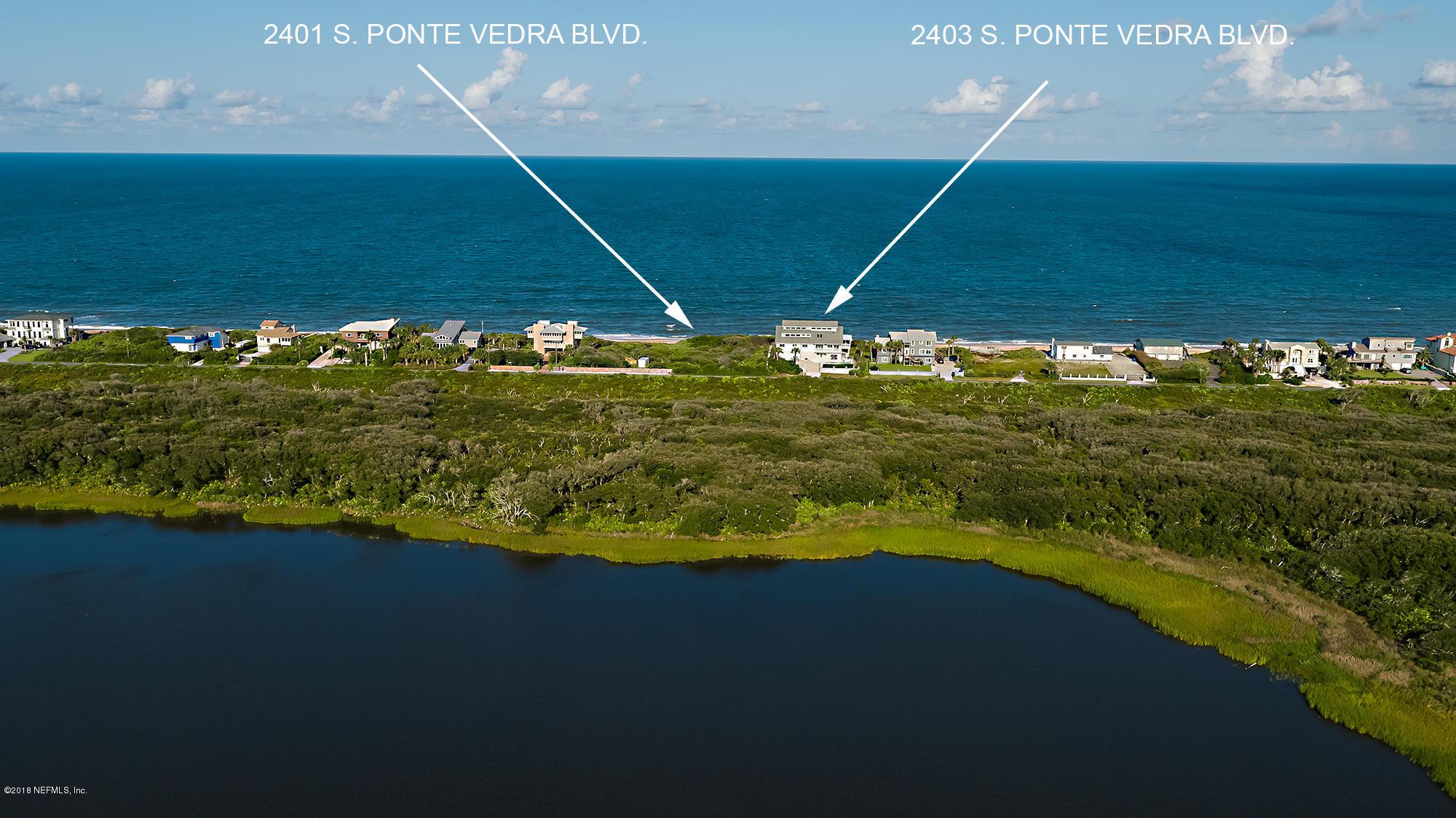 2401&2403 PONTE VEDRA BLVD PONTE VEDRA BEACH - 2