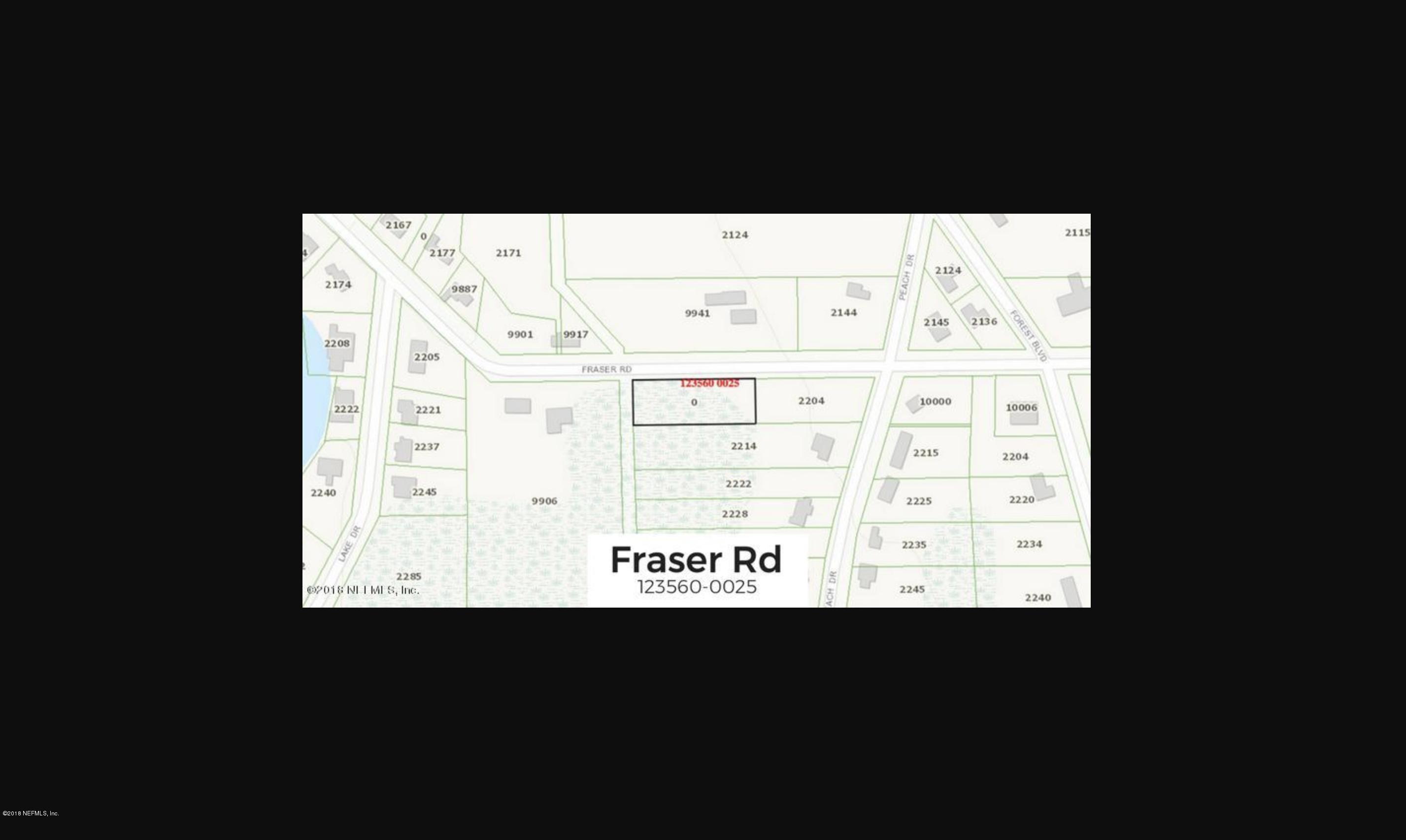 0 FRASER, JACKSONVILLE, FLORIDA 32246, ,Vacant land,For sale,FRASER,960114