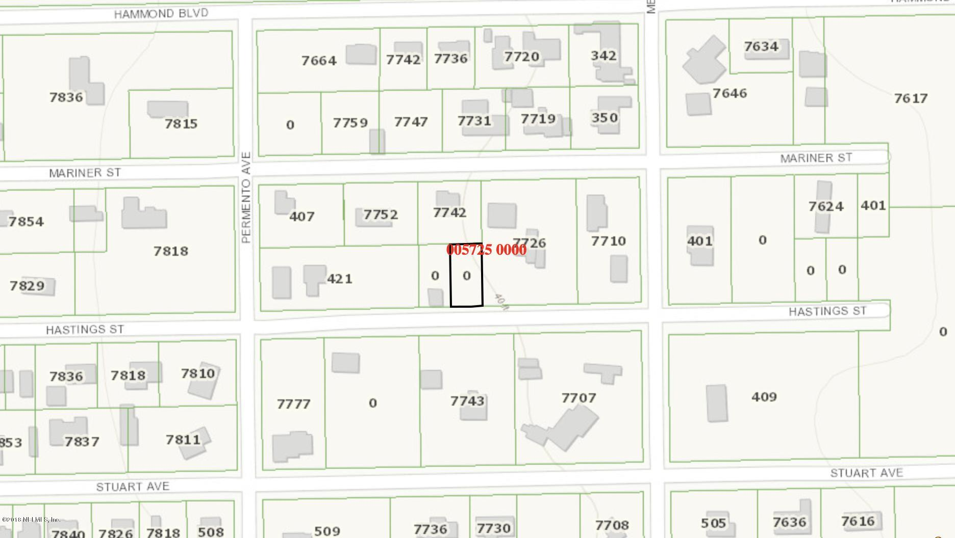 0 HASTINGS, JACKSONVILLE, FLORIDA 32220, ,Vacant land,For sale,HASTINGS,960588