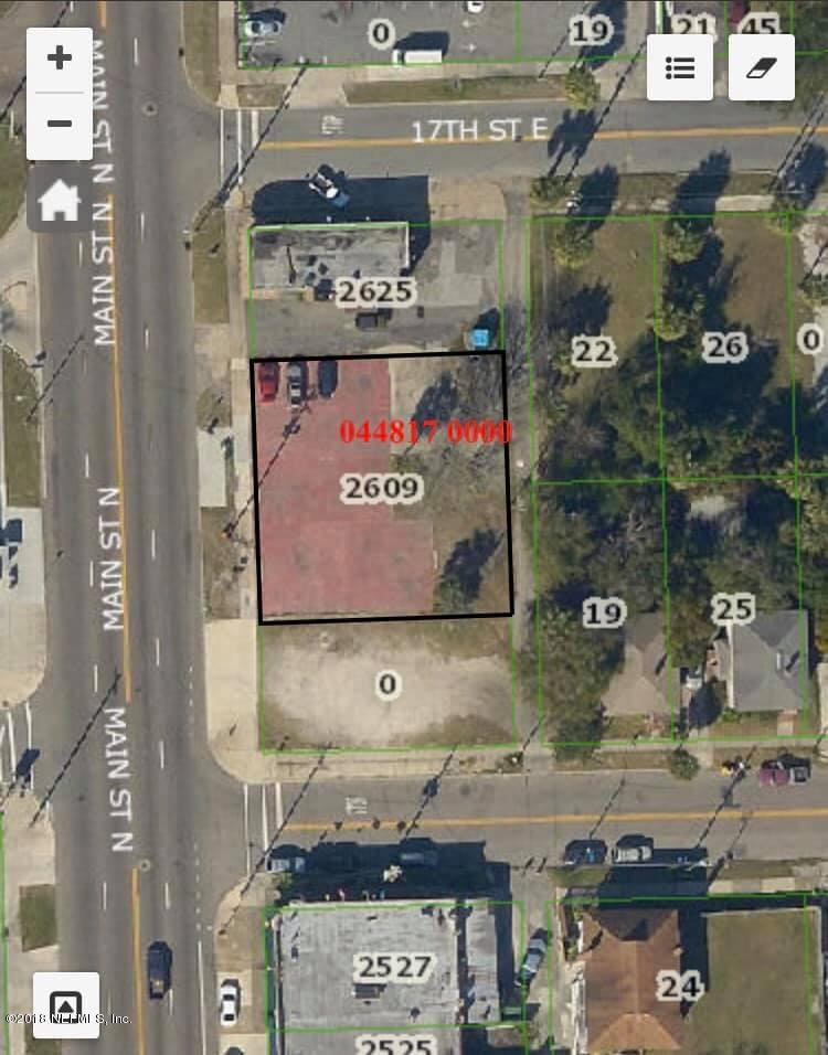 2609 MAIN, JACKSONVILLE, FLORIDA 32206, ,Vacant land,For sale,MAIN,960793