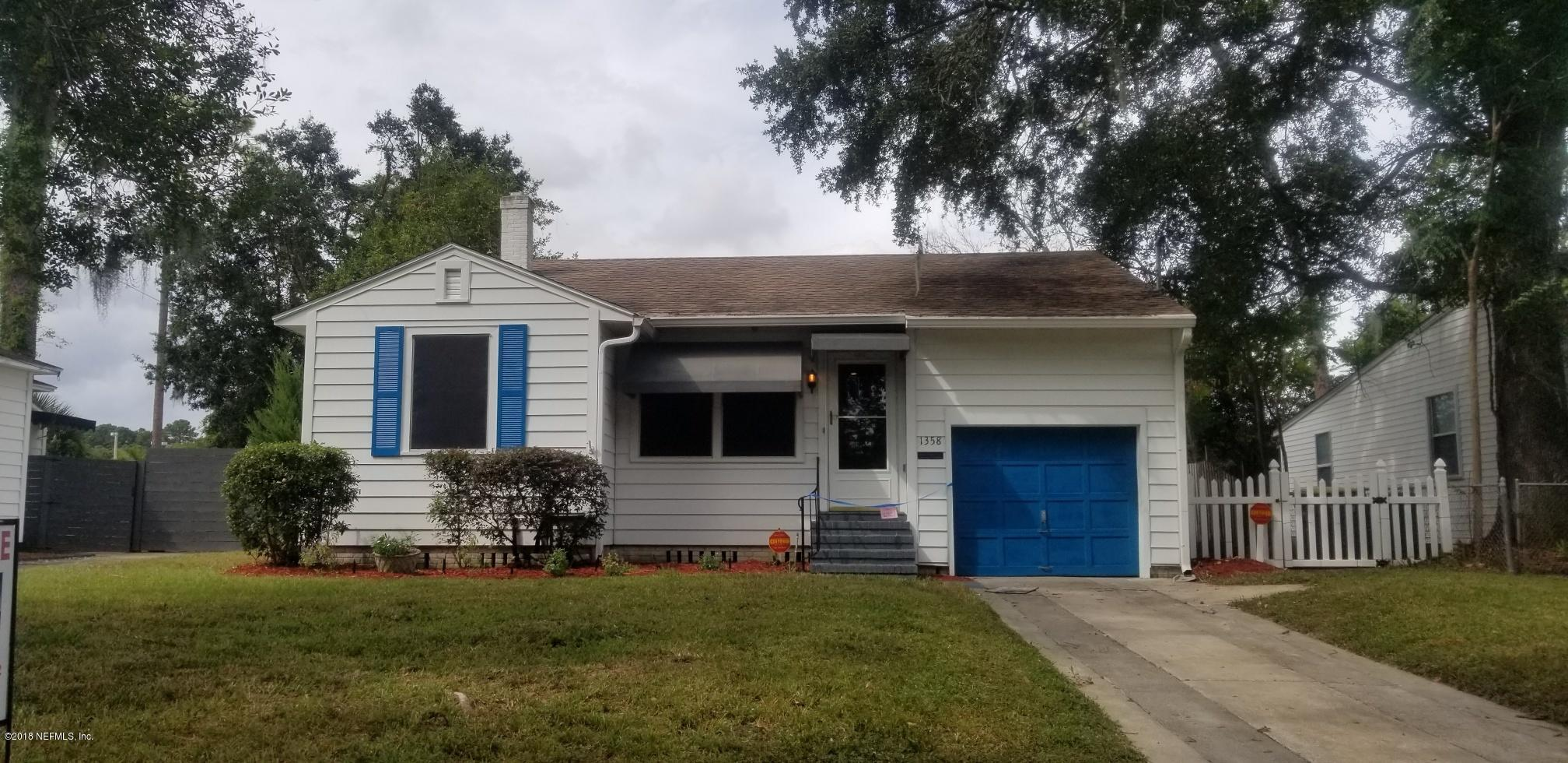 1358 MACARTHUR, JACKSONVILLE, FLORIDA 32205, 3 Bedrooms Bedrooms, ,2 BathroomsBathrooms,Residential - single family,For sale,MACARTHUR,960193