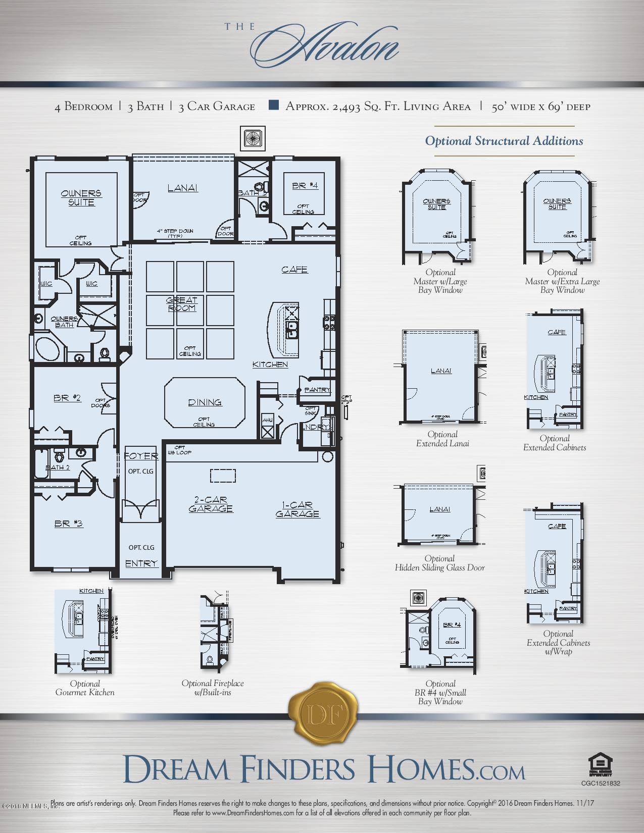 2760 CHAPMAN OAK, JACKSONVILLE, FLORIDA 32257, 4 Bedrooms Bedrooms, ,3 BathroomsBathrooms,Residential - single family,For sale,CHAPMAN OAK,859339