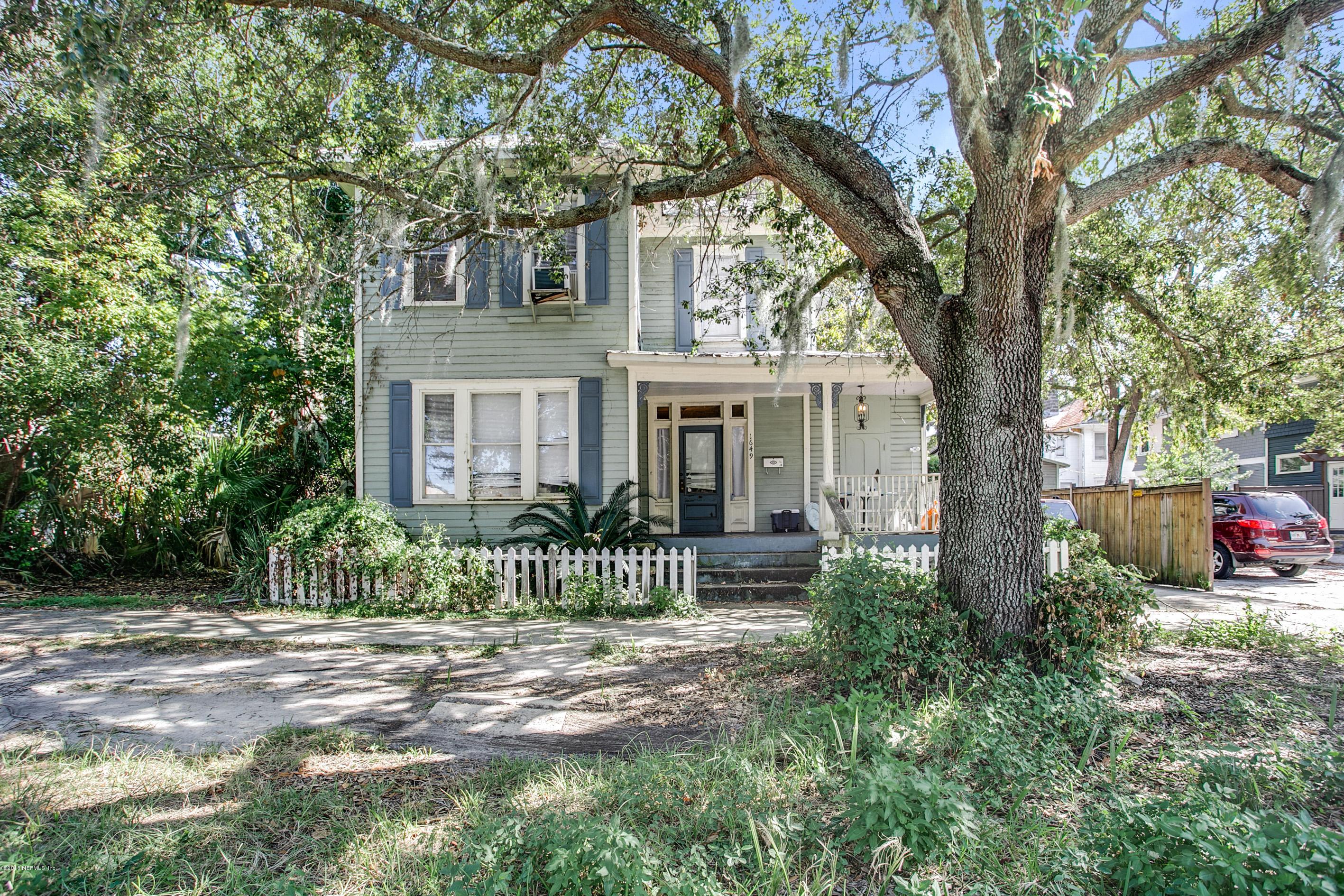 1649 STOCKTON, JACKSONVILLE, FLORIDA 32204, 4 Bedrooms Bedrooms, ,3 BathroomsBathrooms,Multi family,For sale,STOCKTON,963052
