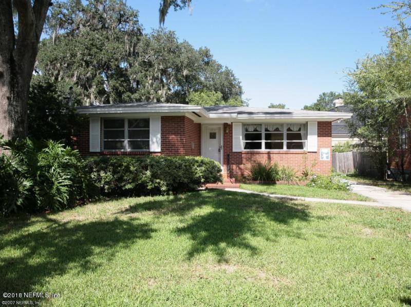 1037 INWOOD, JACKSONVILLE, FLORIDA 32207, 3 Bedrooms Bedrooms, ,2 BathroomsBathrooms,Residential - single family,For sale,INWOOD,963349