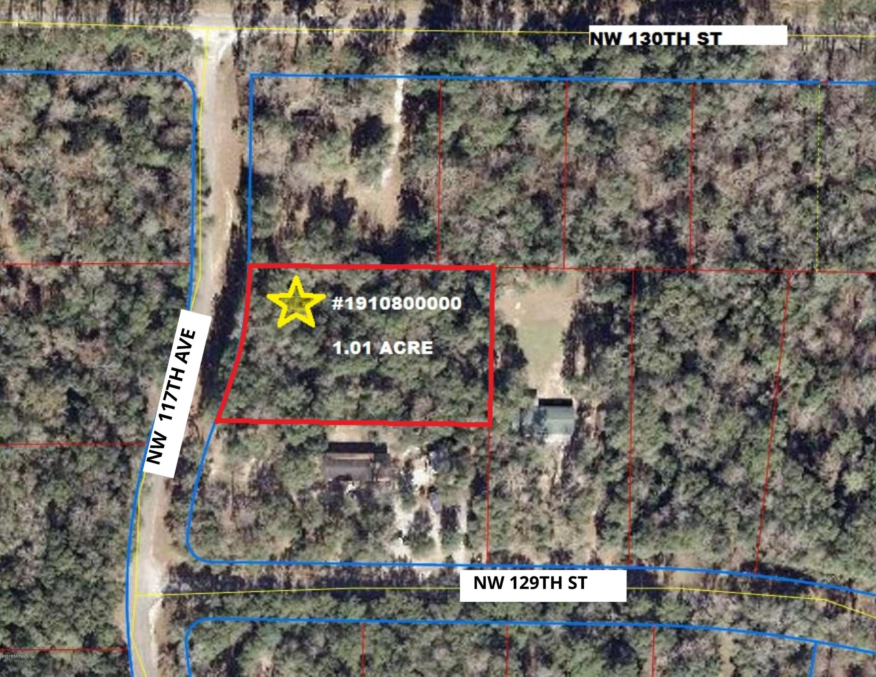 0 117TH- CHIEFLAND- FLORIDA 32626, ,Vacant land,For sale,117TH,963972