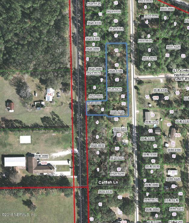 945 RIVER, PALATKA, FLORIDA 32177, ,Vacant land,For sale,RIVER,964517