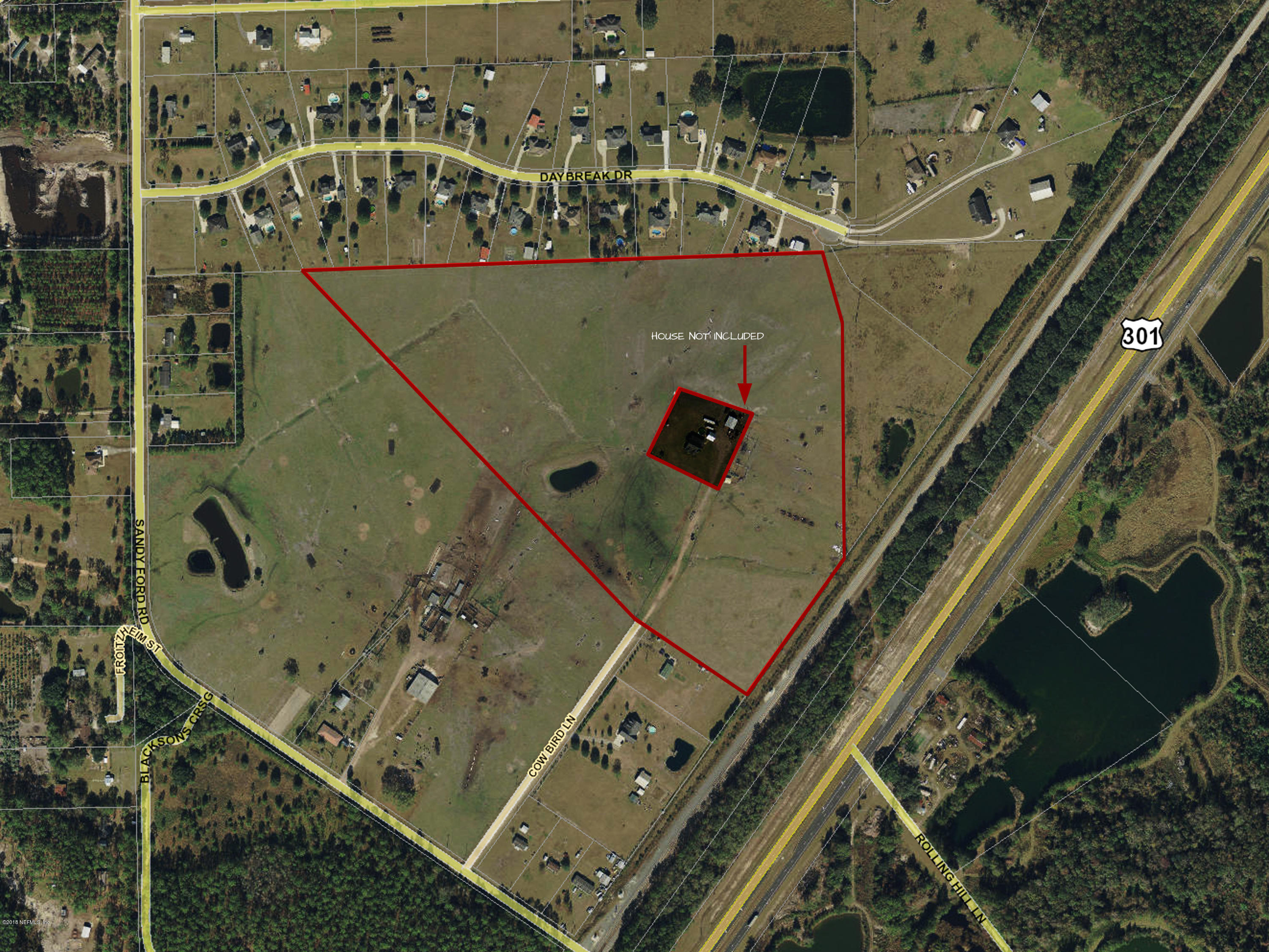 0 COW BIRD, CALLAHAN, FLORIDA 32011, ,Vacant land,For sale,COW BIRD,963826