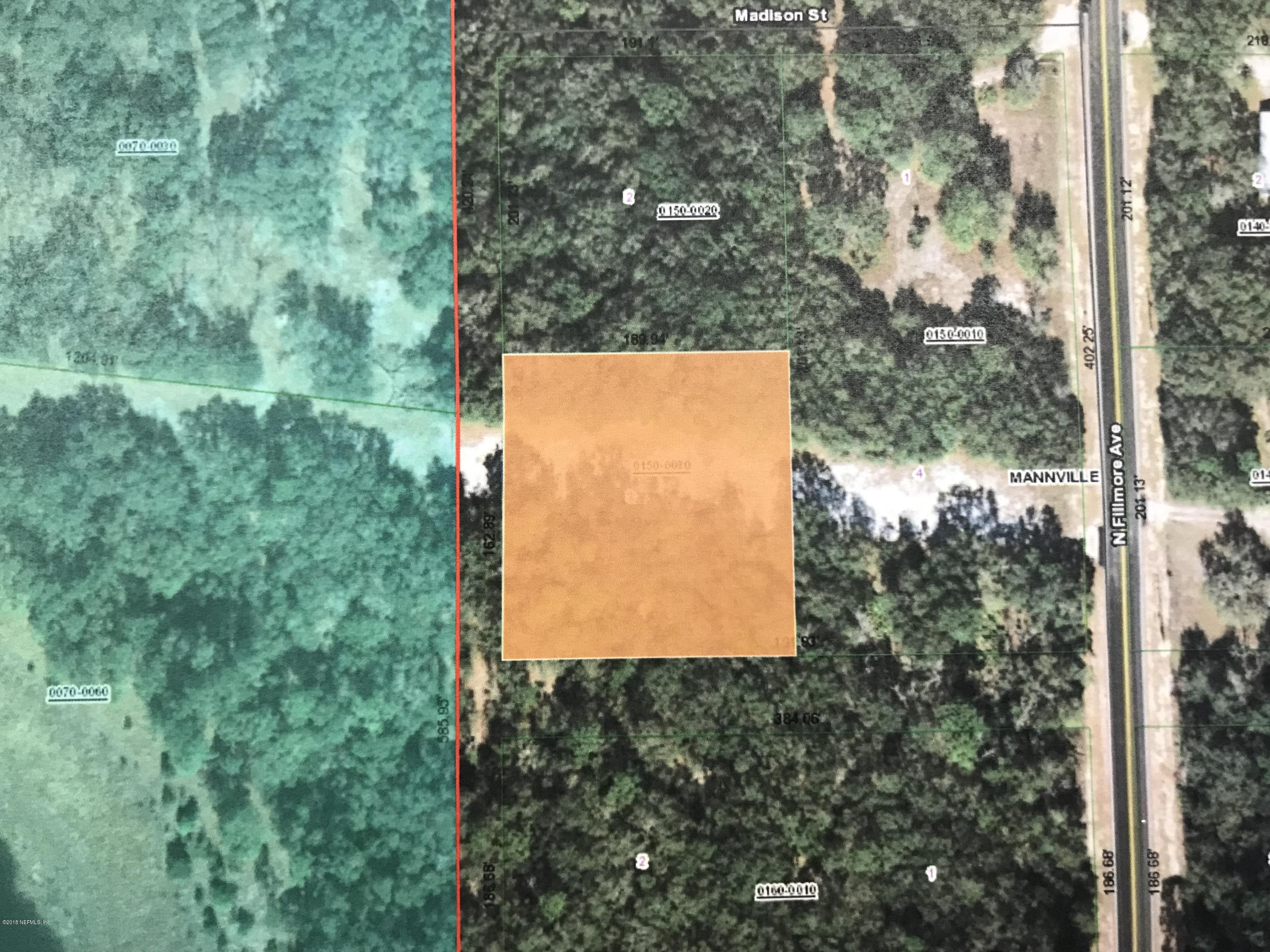 0 FILMORE, INTERLACHEN, FLORIDA 32148, ,Vacant land,For sale,FILMORE,965205