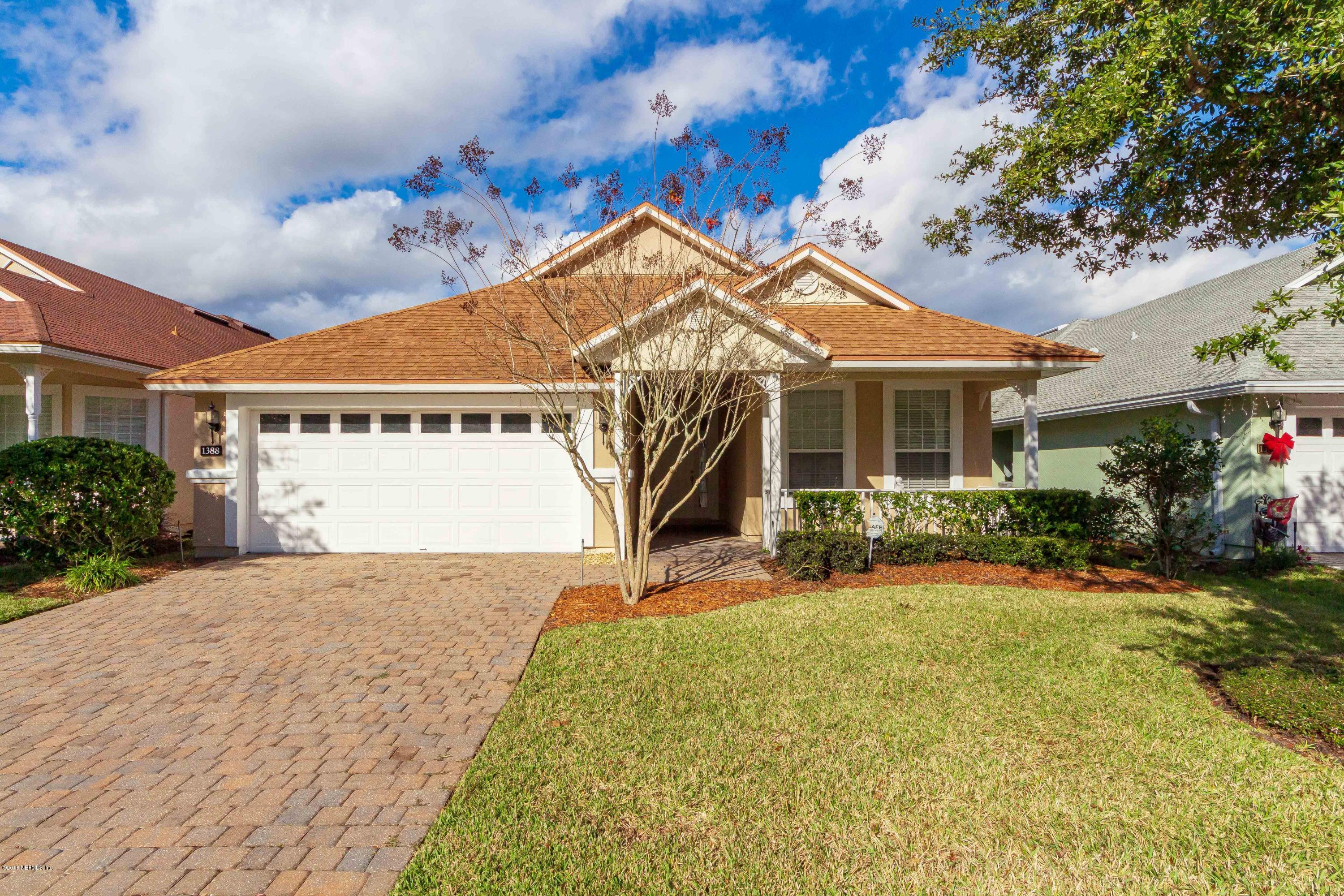 1388 CASTLE PINES, ST AUGUSTINE, FLORIDA 32092-0610, 3 Bedrooms Bedrooms, ,2 BathroomsBathrooms,Residential - single family,For sale,CASTLE PINES,973315