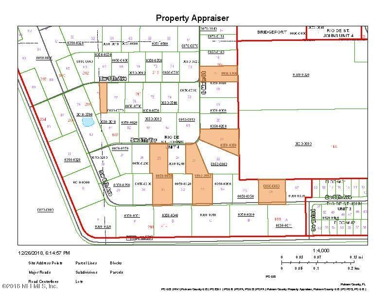 0 6TH, PALATKA, FLORIDA 32177, ,Vacant land,For sale,6TH,972183