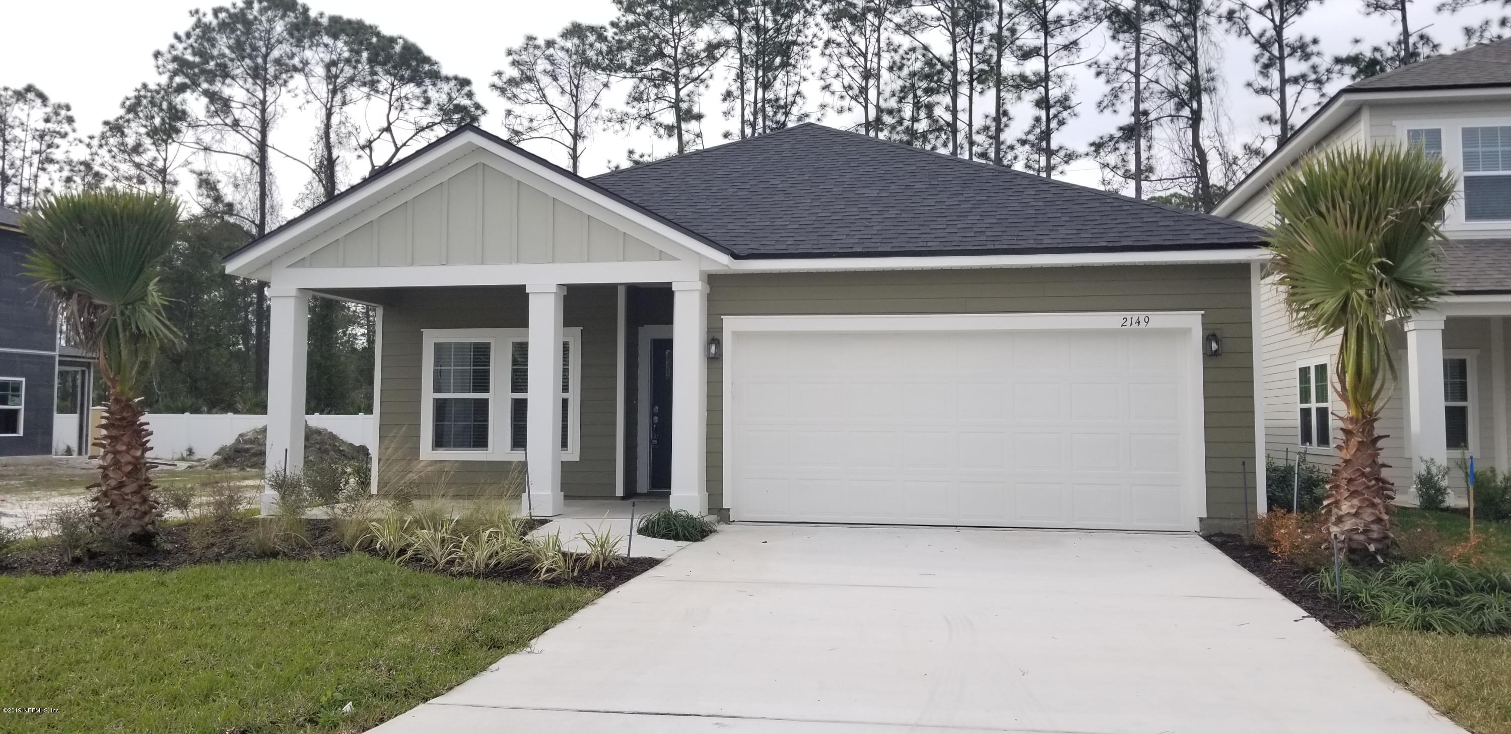 2149  EAGLE TALON CIR, Fleming Island, Florida