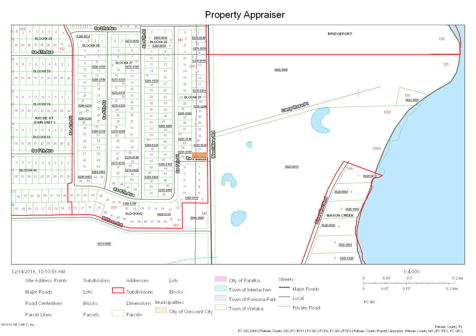 0 RIVER, PALATKA, FLORIDA 32177, ,Vacant land,For sale,RIVER,975104