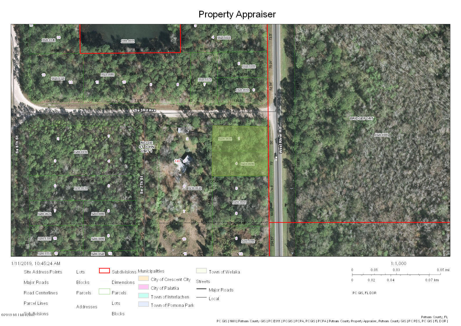 698 RIVER, PALATKA, FLORIDA 32177, ,Vacant land,For sale,RIVER,975107