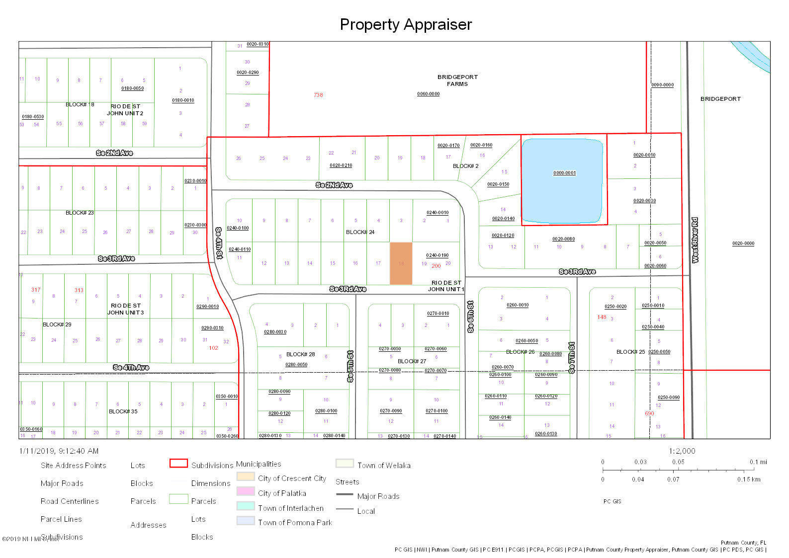 204 3RD, PALATKA, FLORIDA 32177, ,Vacant land,For sale,3RD,975133