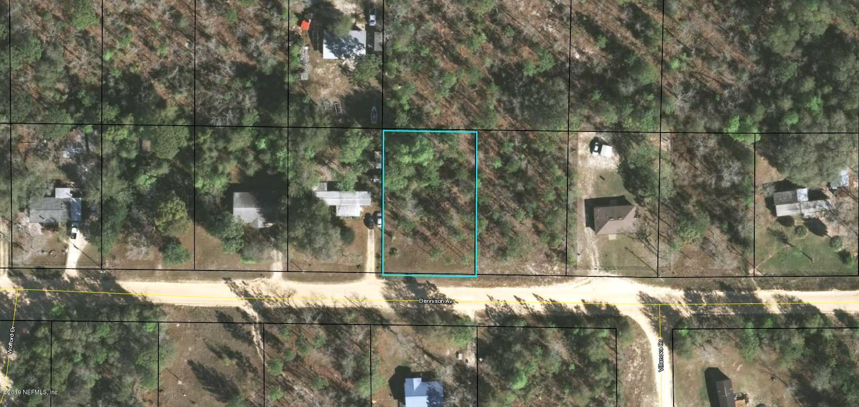 0 DENNISON, KEYSTONE HEIGHTS, FLORIDA 32656, ,Vacant land,For sale,DENNISON,979184