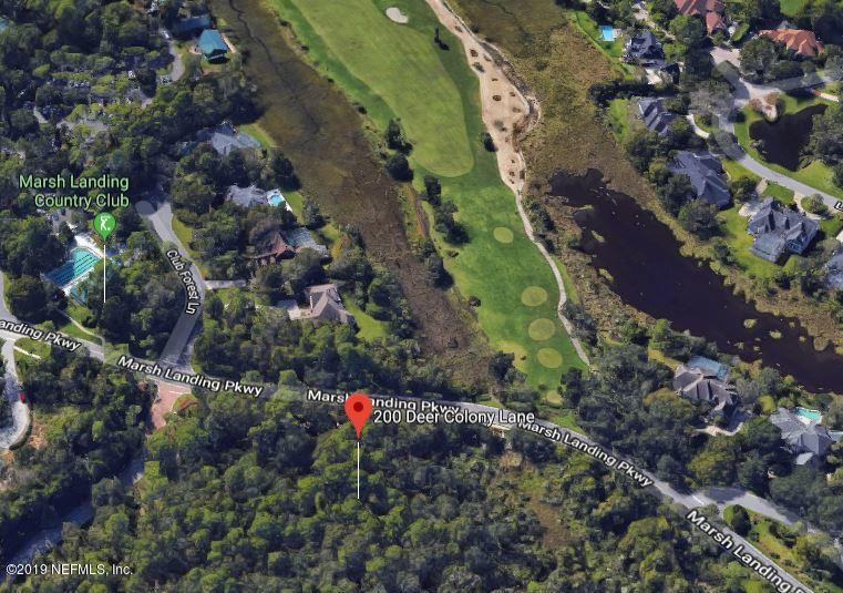 200 DEER COLONY, PONTE VEDRA BEACH, FLORIDA 32082, ,Vacant land,For sale,DEER COLONY,982947