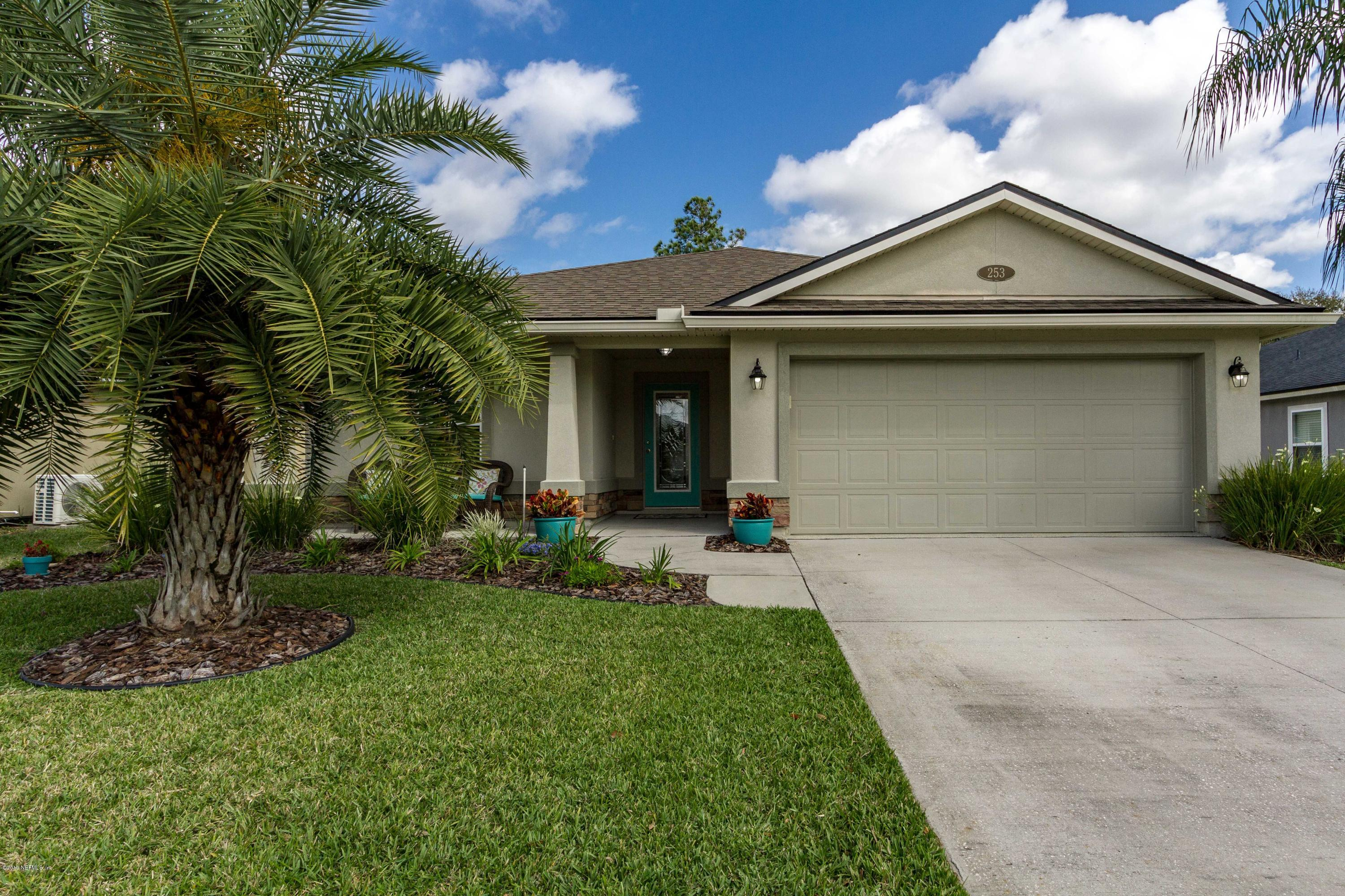 253 W ADELAIDE DR, Julington Creek in ST. JOHNS County, FL 32259 Home for Sale
