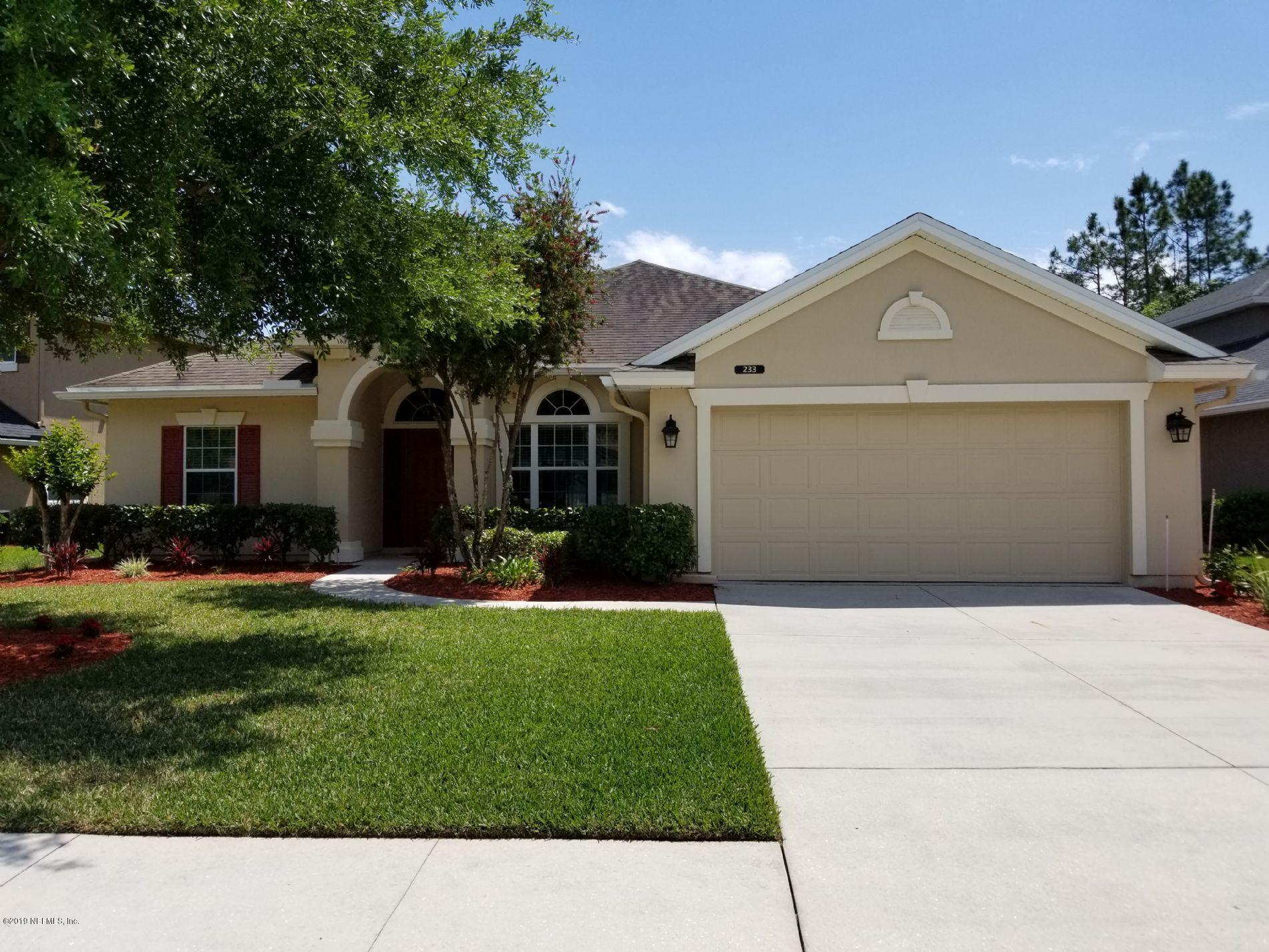 233  WILLOW WINDS PKWY, St Johns, Florida