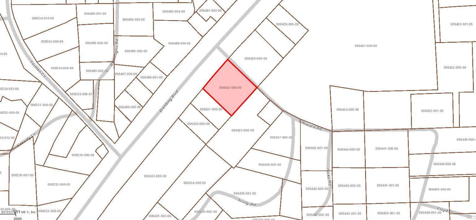 0 HOWARD, MIDDLEBURG, FLORIDA 32068, ,Vacant land,For sale,HOWARD,994188