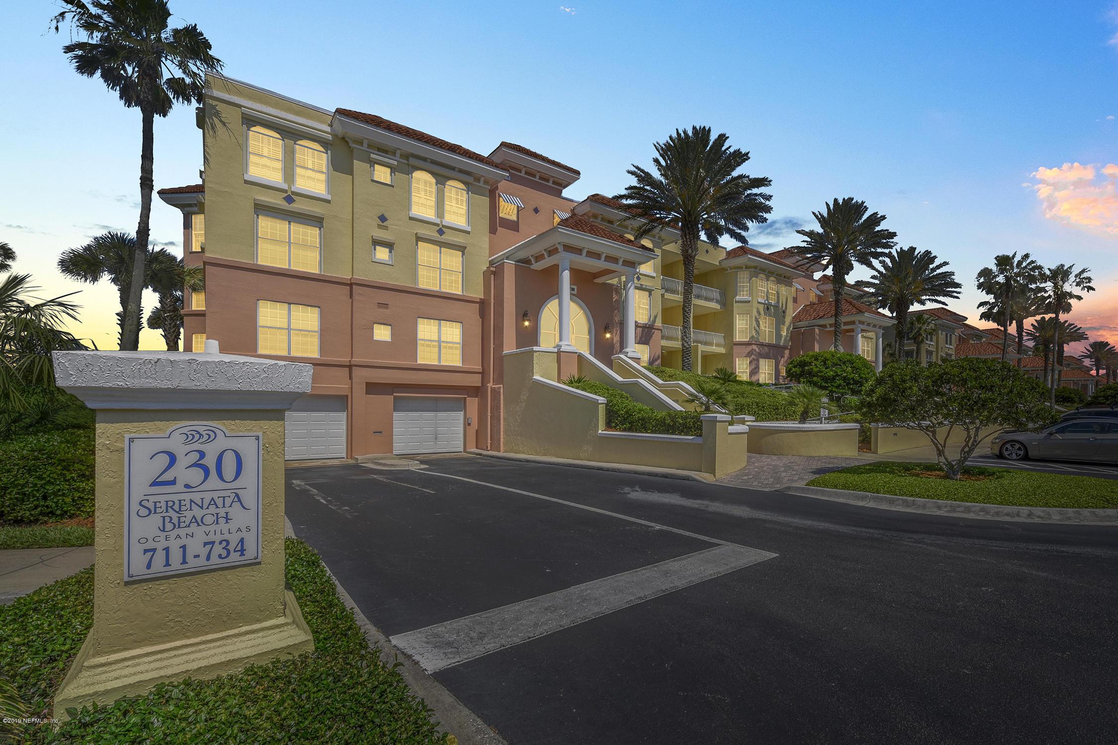 230 SERENATA, PONTE VEDRA BEACH, FLORIDA 32082, 3 Bedrooms Bedrooms, ,3 BathroomsBathrooms,Condo,For sale,SERENATA,996519