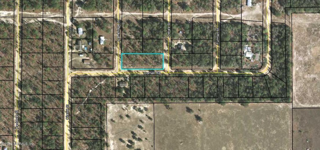 7247 CAMBRIDGE, KEYSTONE HEIGHTS, FLORIDA 32656, ,Vacant land,For sale,CAMBRIDGE,997288