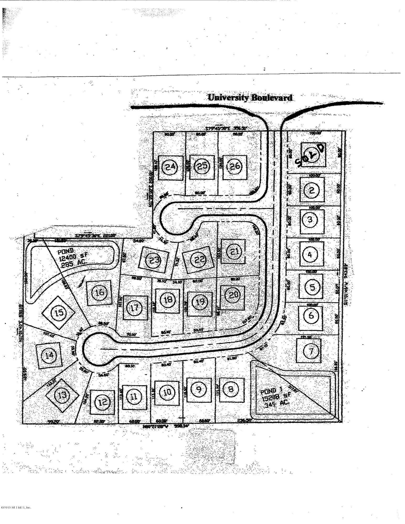 4464 UNIVERSITY, JACKSONVILLE, FLORIDA 32277, ,Vacant land,For sale,UNIVERSITY,463070