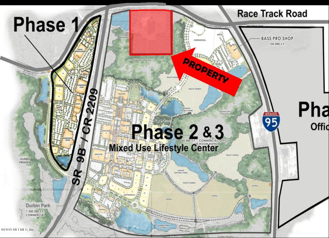 5404 RACE TRACK, JACKSONVILLE, FLORIDA 32259, ,Vacant land,For sale,RACE TRACK,1002683