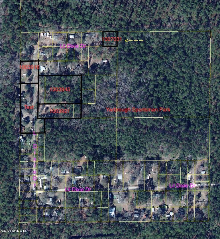 0 LIL DIXIE, SANDERSON, FLORIDA 32087, ,Vacant land,For sale,LIL DIXIE,1007031