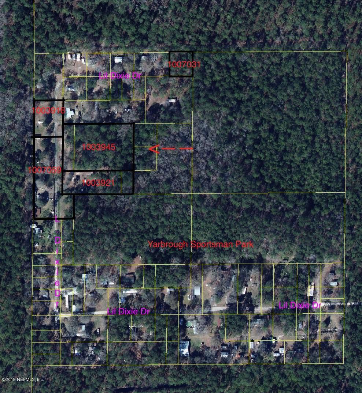 17870 LIL DIXIE, SANDERSON, FLORIDA 32087, ,Vacant land,For sale,LIL DIXIE,1003945