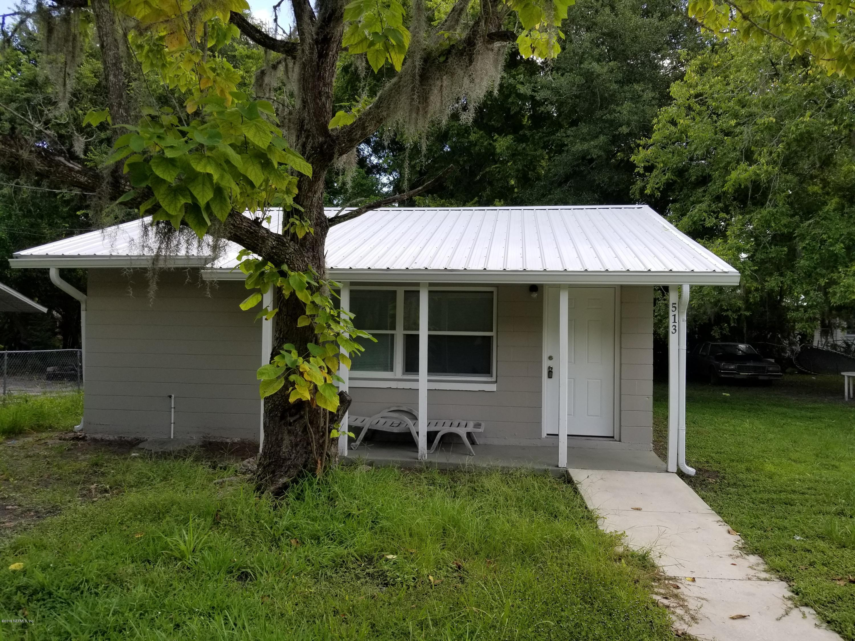 513 11TH, PALATKA, FLORIDA 32177, 1 Bedroom Bedrooms, ,1 BathroomBathrooms,Residential,For sale,11TH,1007562
