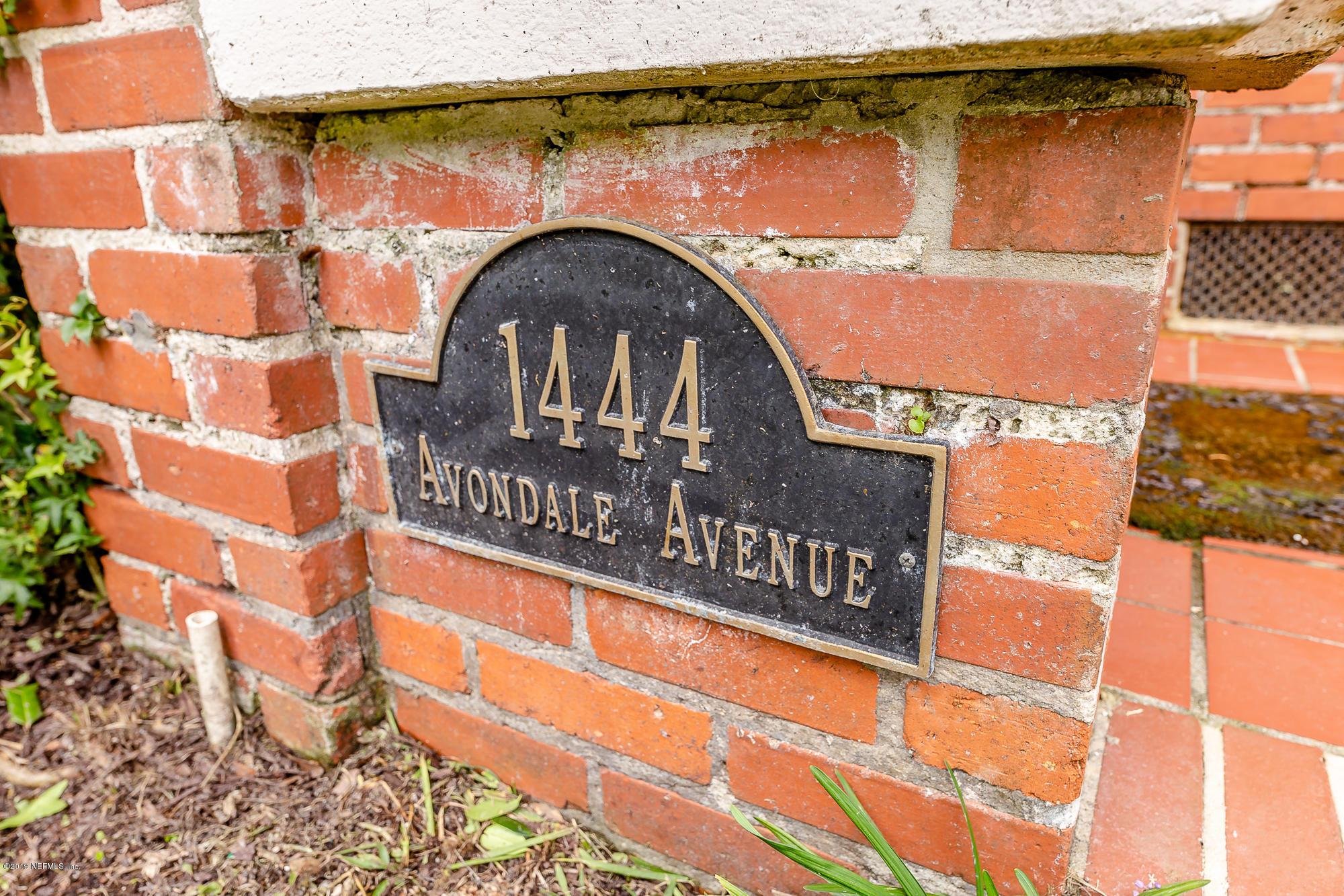 1444 AVONDALE AVE JACKSONVILLE - 40