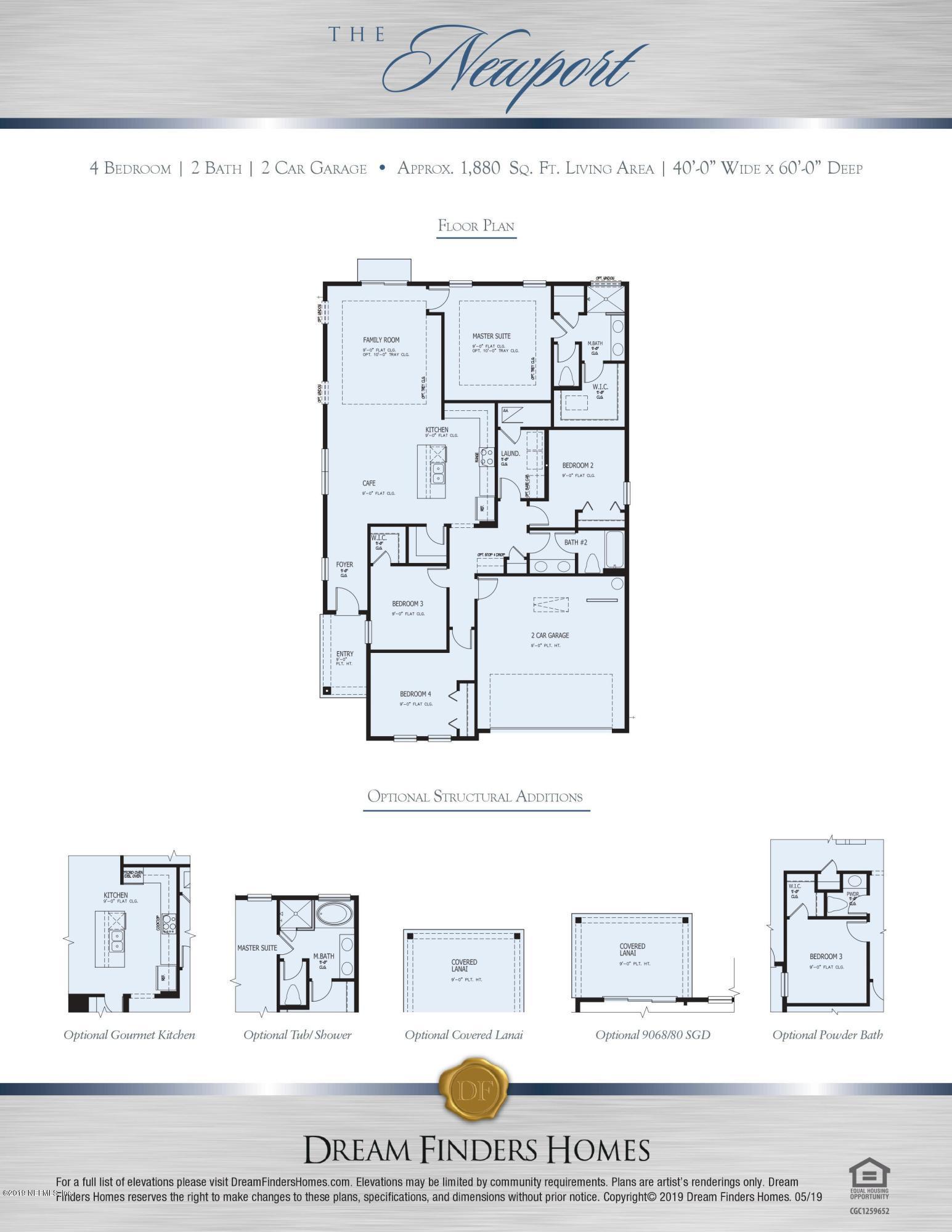 3094 FIRETHORN, ORANGE PARK, FLORIDA 32073, 4 Bedrooms Bedrooms, ,2 BathroomsBathrooms,Residential,For sale,FIRETHORN,1009317