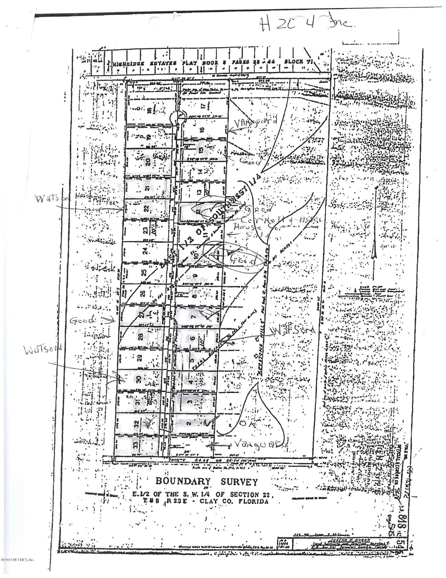 00 ALAMEDA, KEYSTONE HEIGHTS, FLORIDA 32656, ,Vacant land,For sale,ALAMEDA,1008779