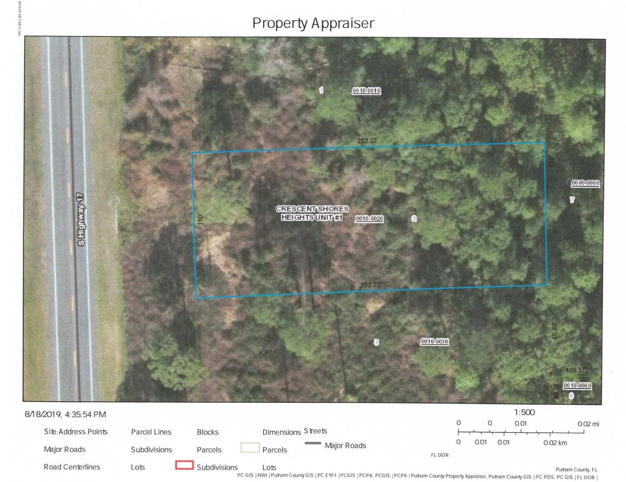 2778 HIGHWAY 17, CRESCENT CITY, FLORIDA 32112, ,Vacant land,For sale,HIGHWAY 17,1011578