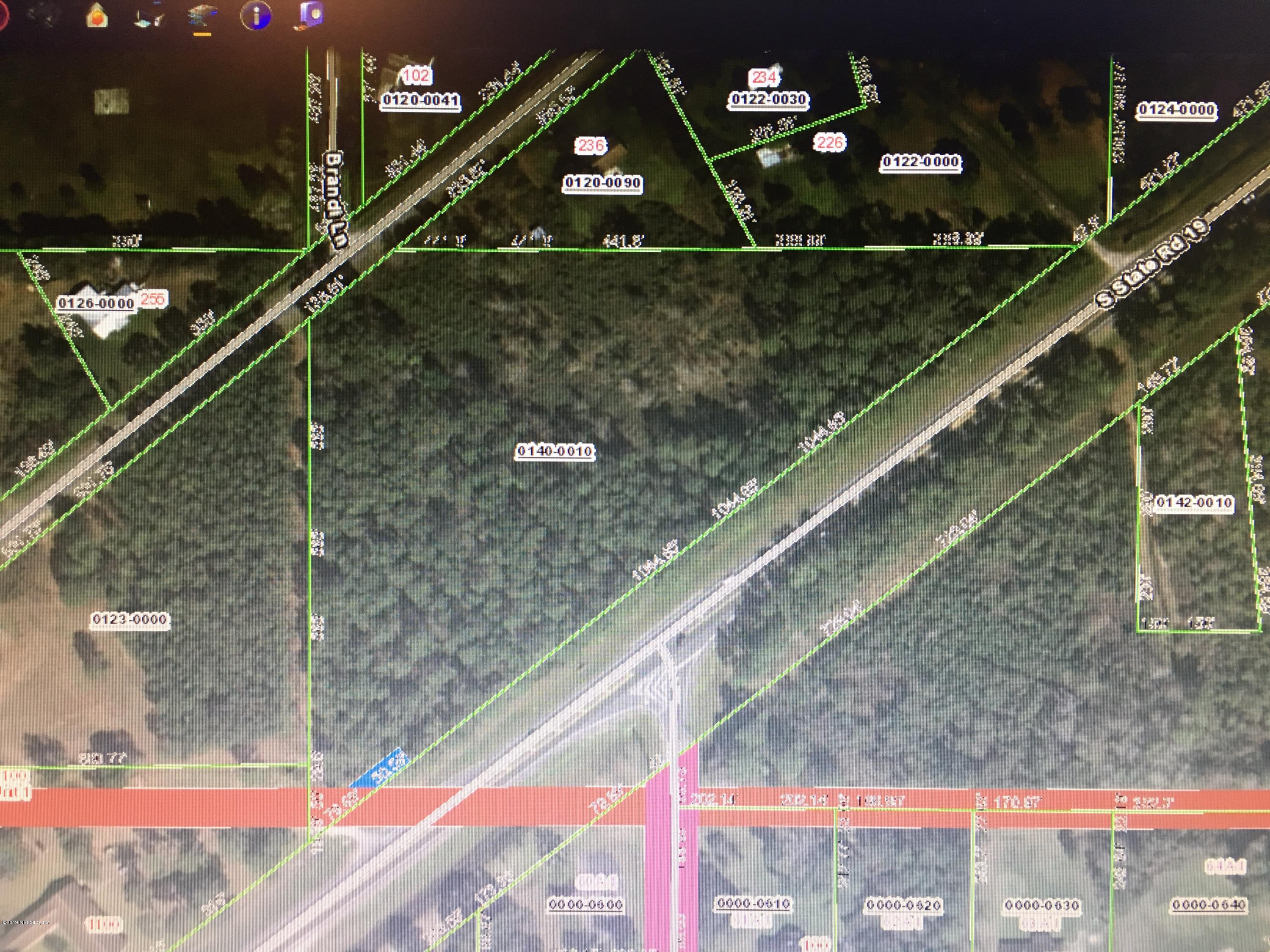 0 STATE RD 19, PALATKA, FLORIDA 32177, ,Vacant land,For sale,STATE RD 19,1012246
