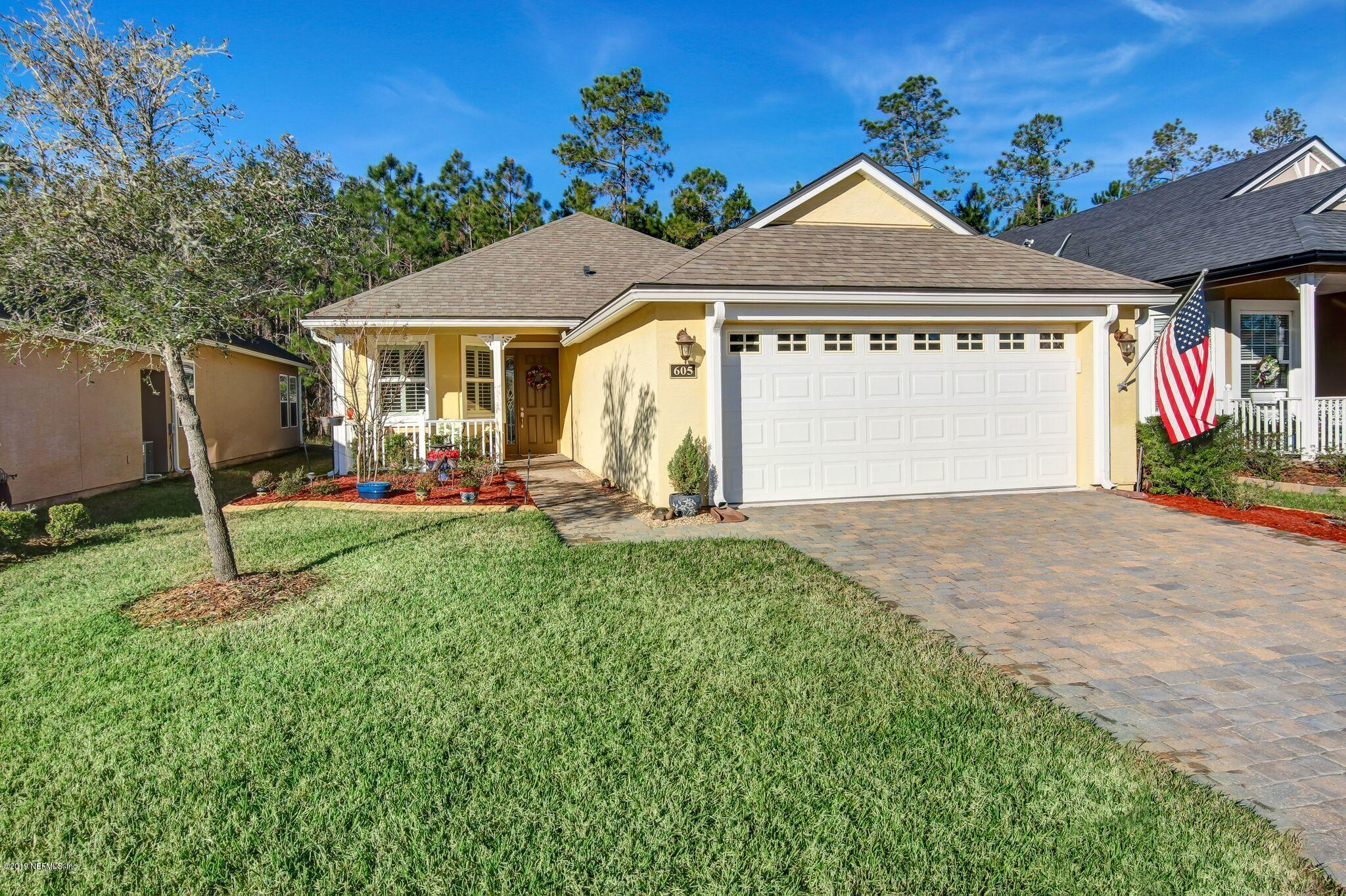 605 LEGACY- ST AUGUSTINE- FLORIDA 32092, 3 Bedrooms Bedrooms, ,2 BathroomsBathrooms,Residential - single family,For sale,LEGACY,1014376
