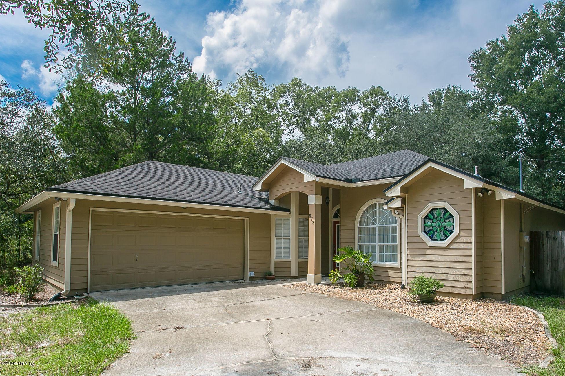 872 HAYNES, GREEN COVE SPRINGS, FLORIDA 32043, 4 Bedrooms Bedrooms, ,2 BathroomsBathrooms,Residential - single family,For sale,HAYNES,1014740