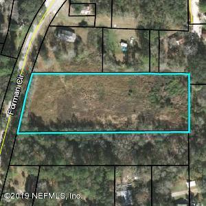 0 FOREMAN, MIDDLEBURG, FLORIDA 32068, ,Vacant land,For sale,FOREMAN,1016023