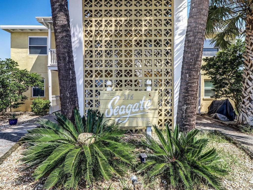 316 FLETCHER, FERNANDINA BEACH, FLORIDA 32034, 2 Bedrooms Bedrooms, ,1 BathroomBathrooms,Condo,For sale,FLETCHER,1016135
