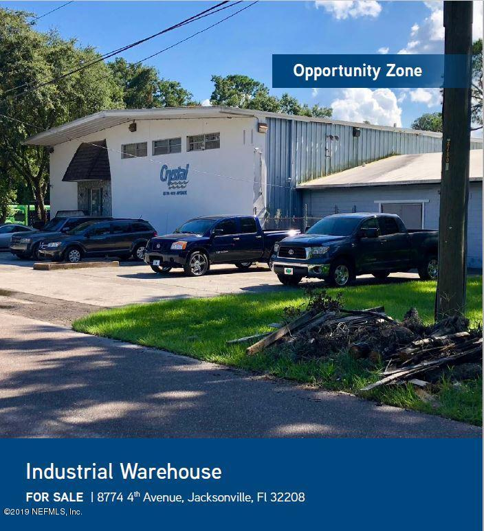 8774 4TH, JACKSONVILLE, FLORIDA 32208, ,Commercial,For sale,4TH,1017018