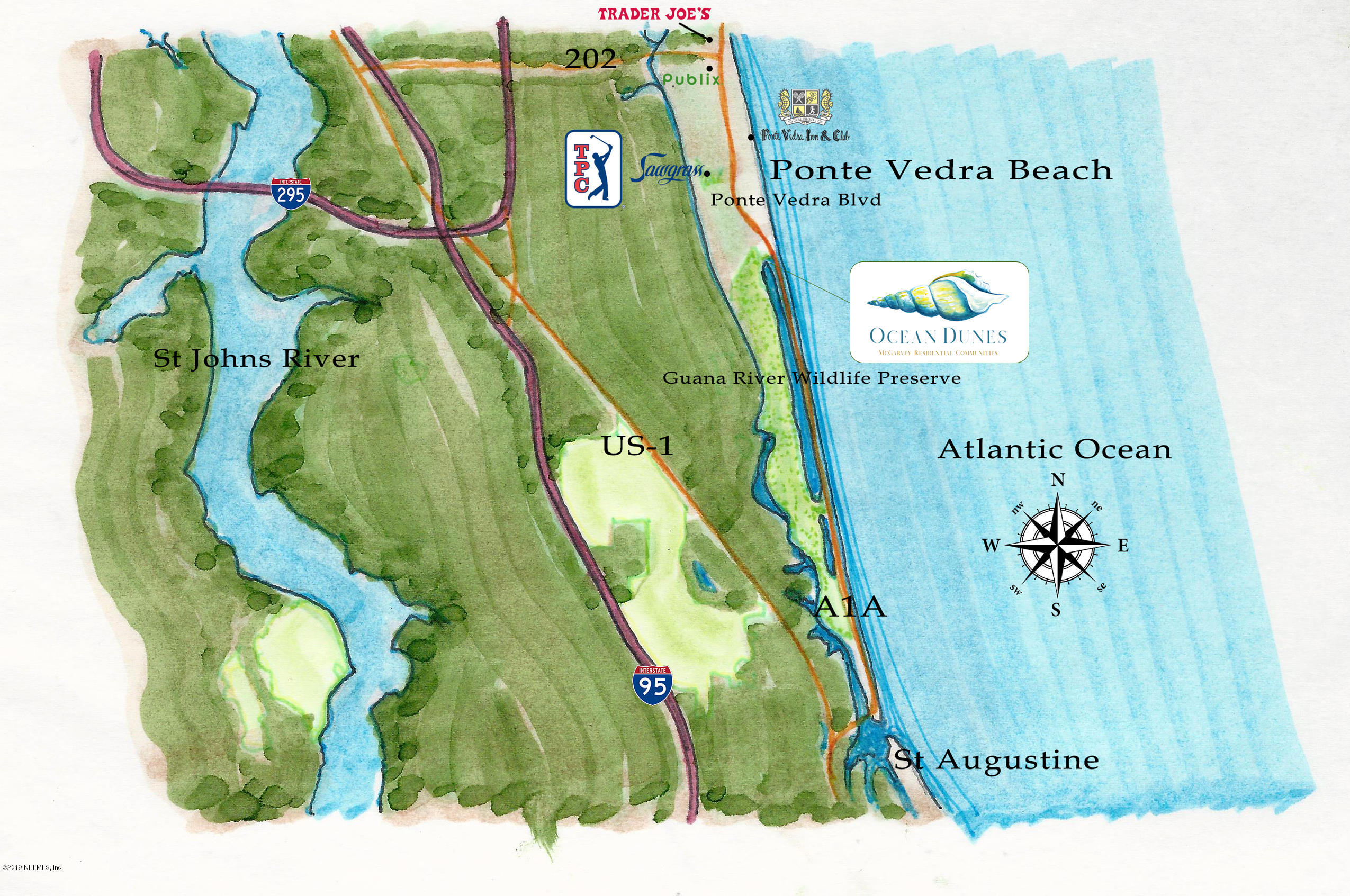 34 MARSH DUNES, PONTE VEDRA BEACH, FLORIDA 32082, ,Vacant land,For sale,MARSH DUNES,1018955