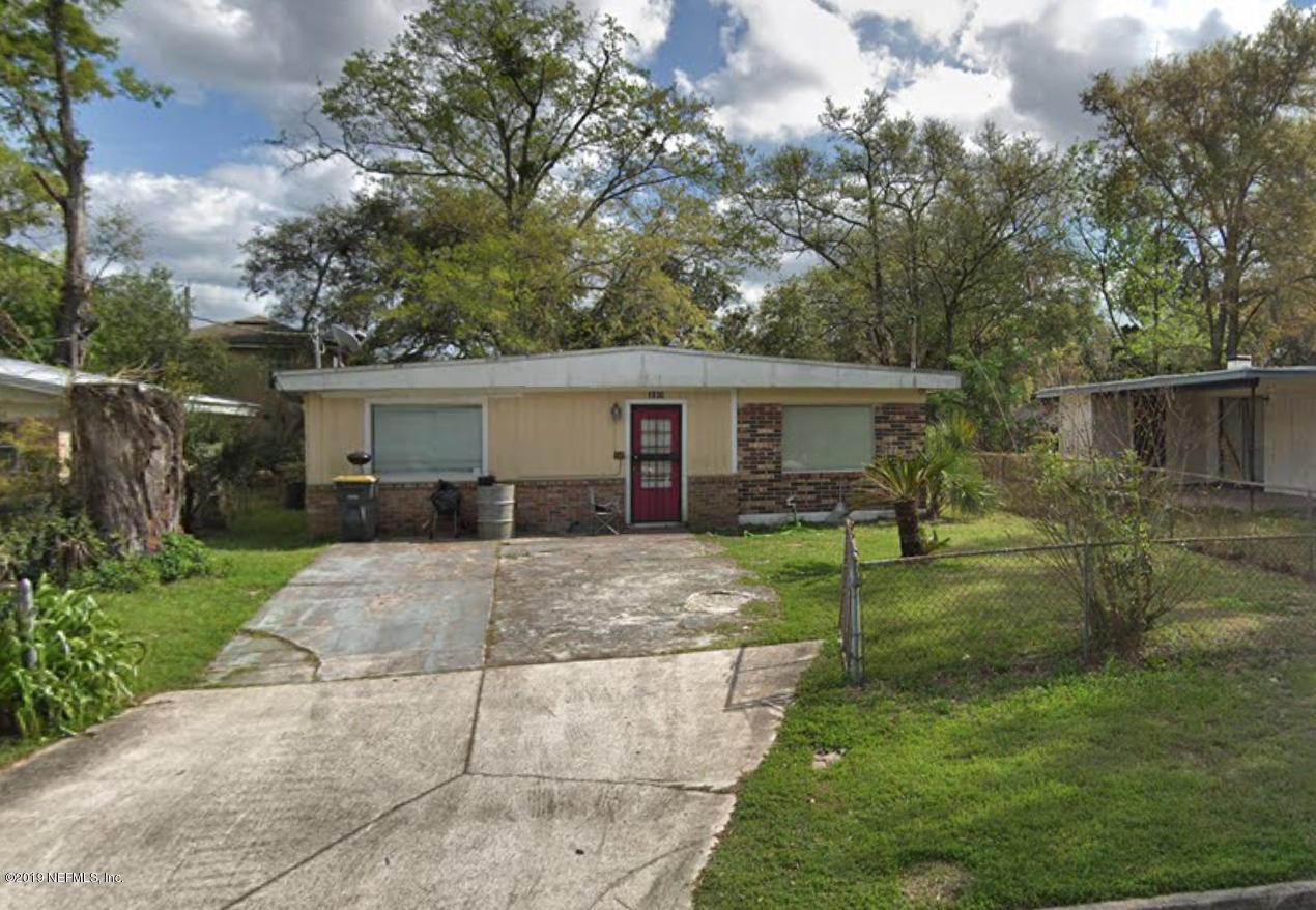 1030 ARDOON, JACKSONVILLE, FLORIDA 32208, 3 Bedrooms Bedrooms, ,1 BathroomBathrooms,Residential,For sale,ARDOON,1020439